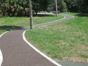 managing water runoff with H2 Turf porous pavement