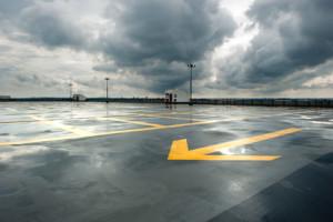 parking lot construction, porous pavement, parking lot