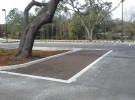 porous turf parking stall